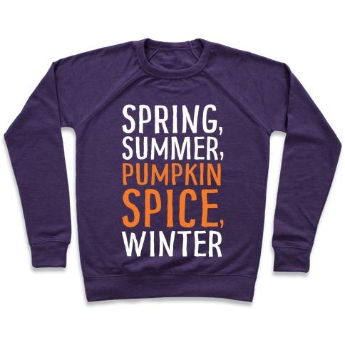 Spring Summer Pumpkin Spice Winter Pullover
