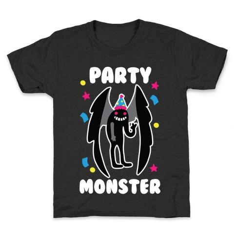 Party Monster : Mothman Kids T-Shirt