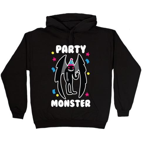 Party Monster : Mothman Hooded Sweatshirt