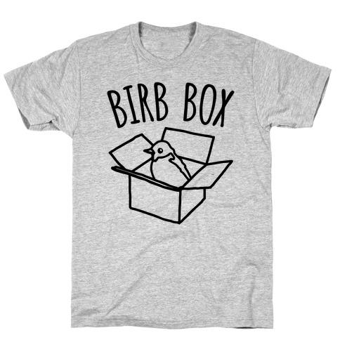 Birb Box Parody T-Shirt