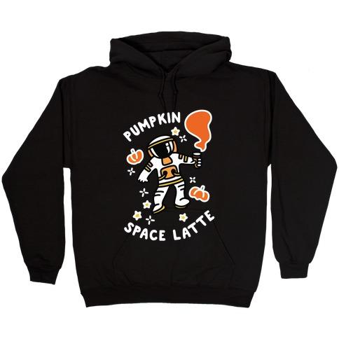 Pumpkin Space Latte Astronaut Hooded Sweatshirt