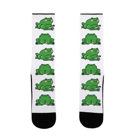 Frog Butt Sock
