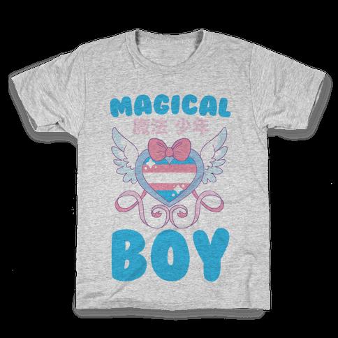 Magical Boy - Trans Pride Kids T-Shirt