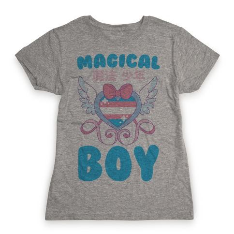 Magical Boy - Trans Pride Womens T-Shirt