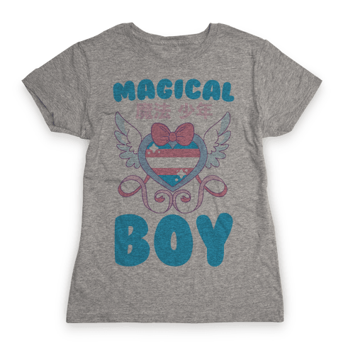 Magical Boy - Trans Pride Womens T-Shirt