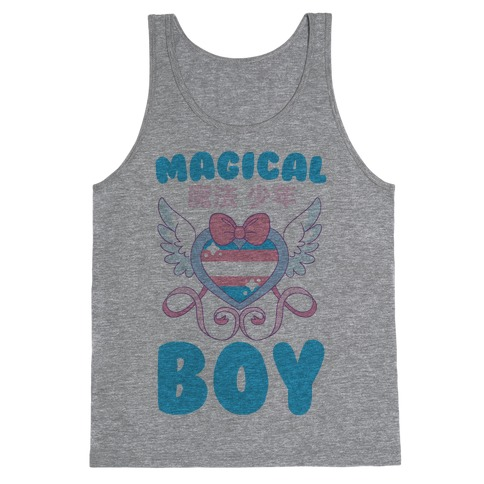 Magical Boy - Trans Pride Tank Top