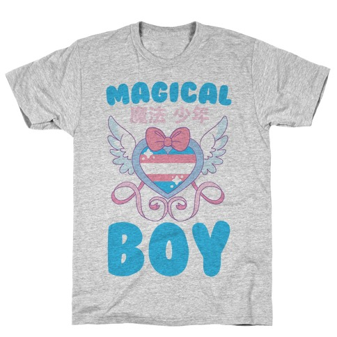 Magical Boy - Trans Pride T-Shirt