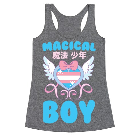 Magical Boy - Trans Pride Racerback Tank Top
