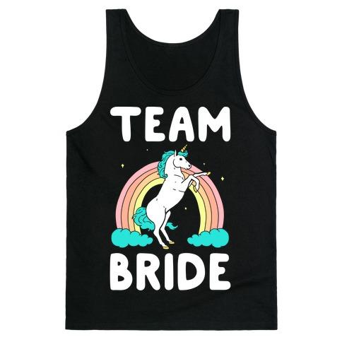 Magical Team Bride Tank Top