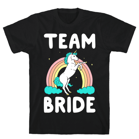 Magical Team Bride Mens T-Shirt