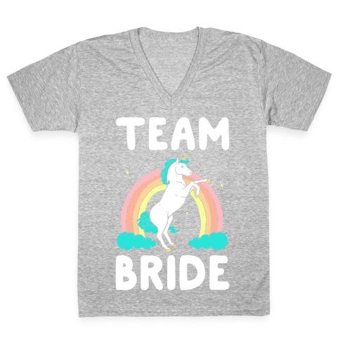 Magical Team Bride V-Neck Tee Shirt