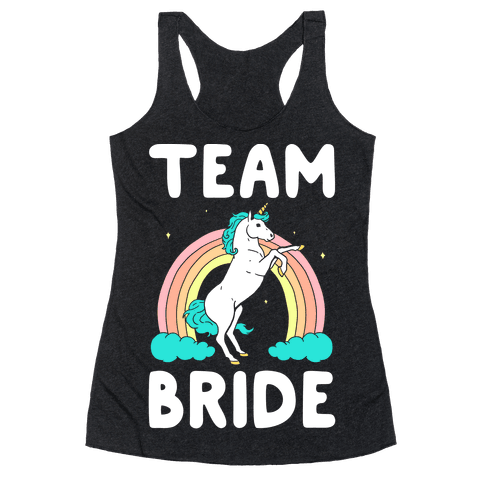 Magical Team Bride Racerback Tank Top