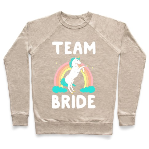 020d0814 Magical Team Bride Crewneck Sweatshirt | LookHUMAN