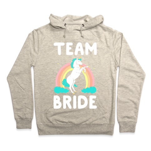 bebec25e Magical Team Bride Hoodie | LookHUMAN