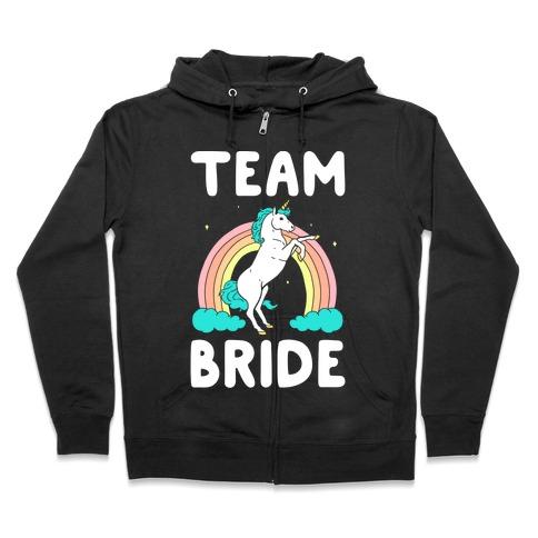 Magical Team Bride Zip Hoodie