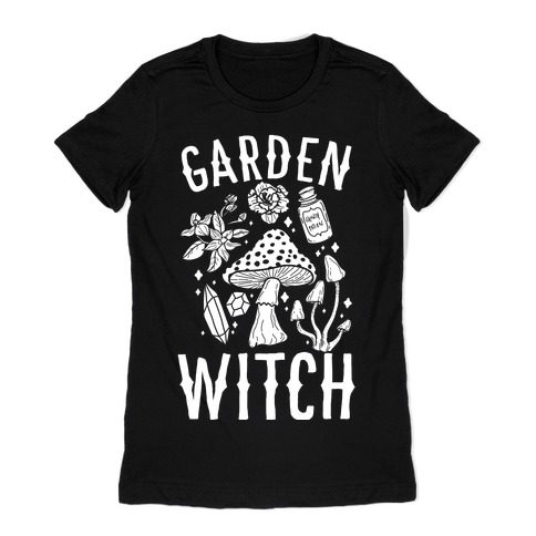 Garden Witch Womens T-Shirt