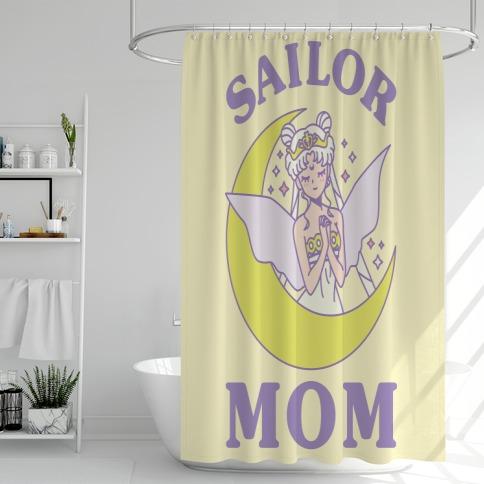 Sailor Mom Shower Curtain