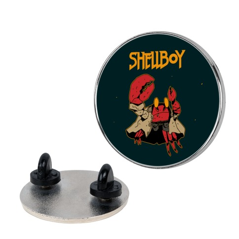Shell Boy Pin