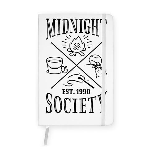 Midnight Society Notebook