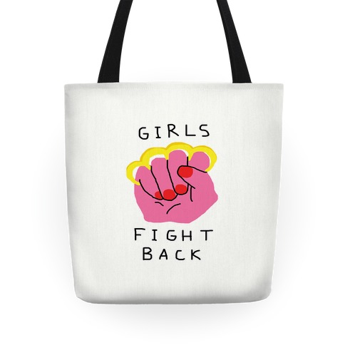 Girls Fight Back Tote