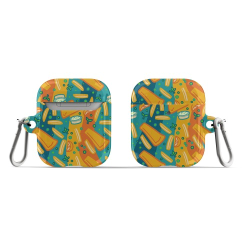Groovy Fish And Chips AirPod Case