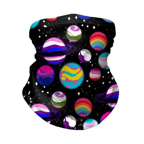 LGBTQ+ Planets Neck Gaiter