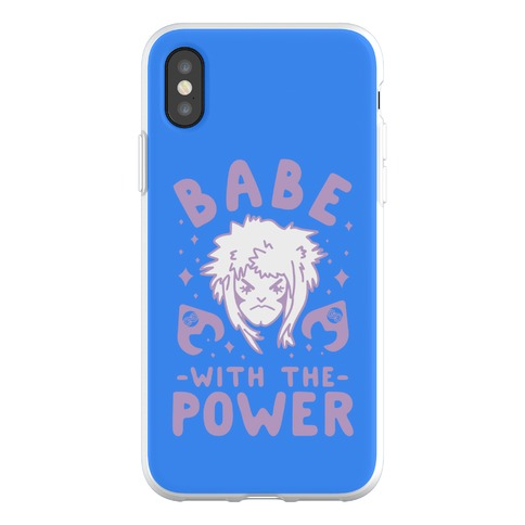 Babe with the Power Phone Flexi-Case