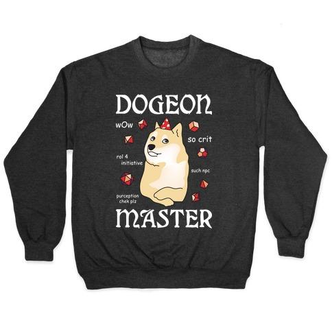 Dogeon Master Doge DM Pullover