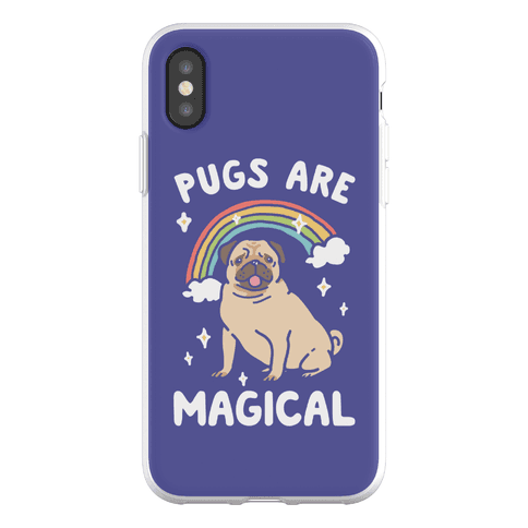 Pugs Are Magical Phone Flexi-Case