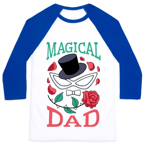 Magical Dad Baseball Tee