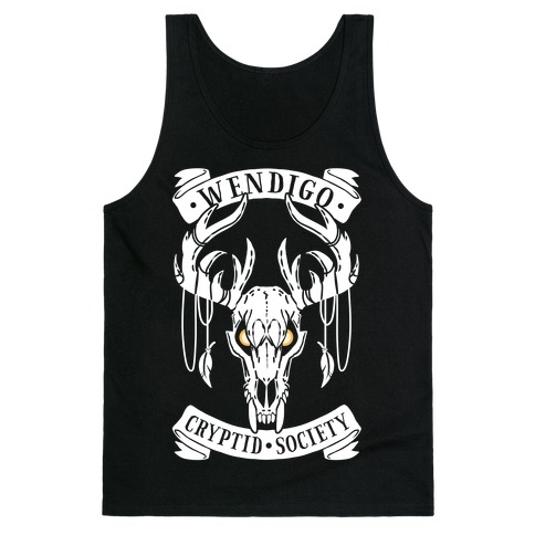 Wendigo Cryptid Society Tank Top
