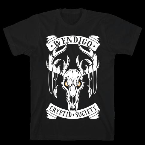 Wendigo Cryptid Society Mens/Unisex T-Shirt