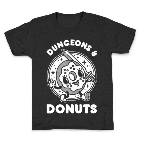 Dungeons and Donuts Kids T-Shirt