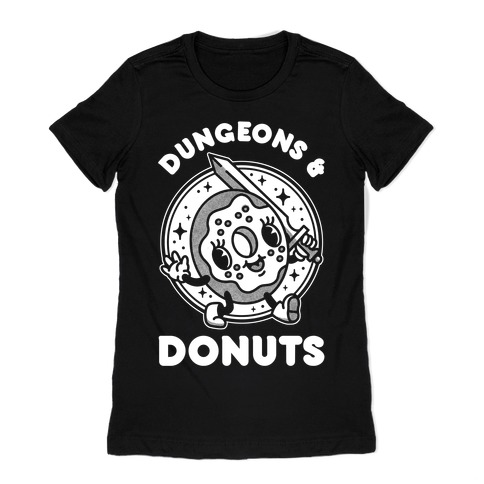 Dungeons and Donuts Womens T-Shirt