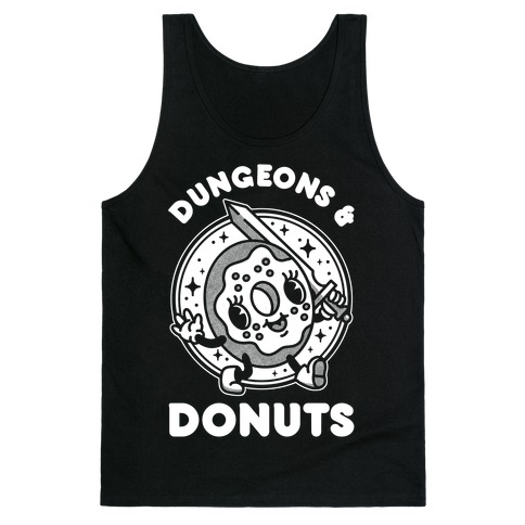 Dungeons and Donuts Tank Top