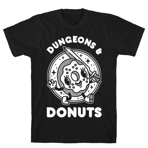 Dungeons and Donuts T-Shirt