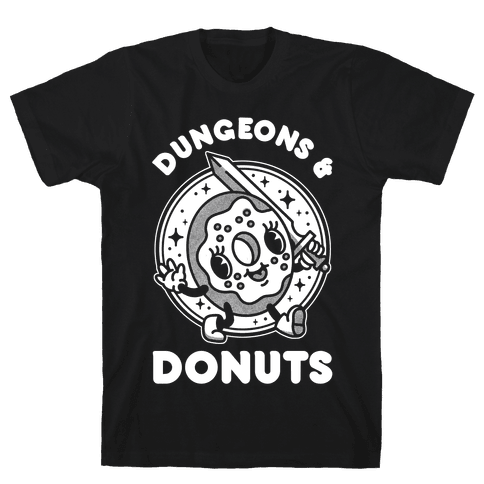 Dungeons and Donuts Mens/Unisex T-Shirt