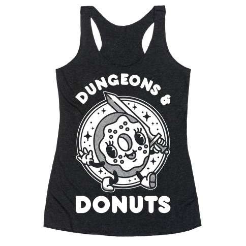 Dungeons and Donuts Racerback Tank Top