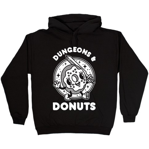 Dungeons and Donuts Hooded Sweatshirt