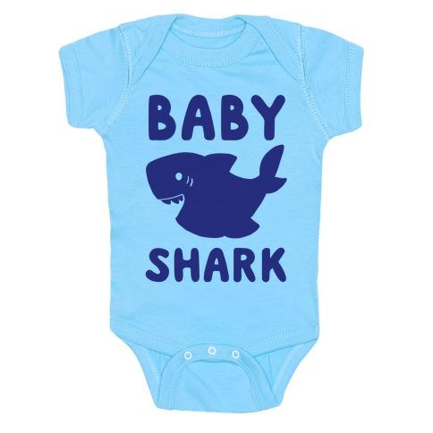 Baby Shark (1 of 5 set) Baby Onesy