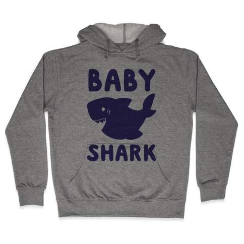 Baby Shark (1 of 5 set) Hooded Sweatshirt