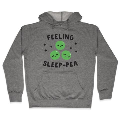 Feeling Sleep-pea Hooded Sweatshirt