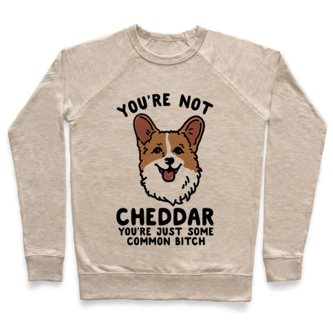You're Not Cheddar You're Just Some Common Bitch Pullover