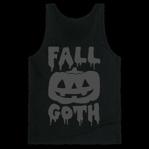 Fall Goth Tank Top