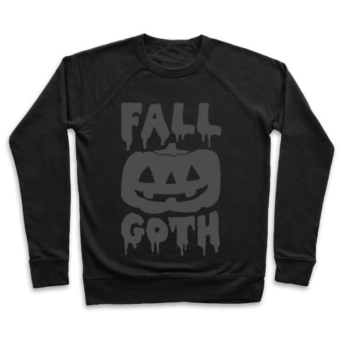 Fall Goth Pullover