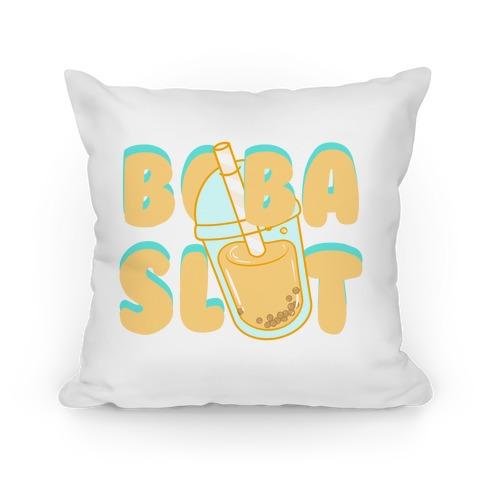 Boba Slut (orange) Pillow