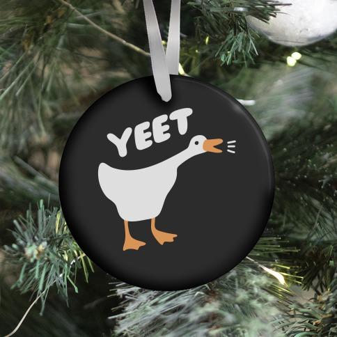 YEET Goose Ornament