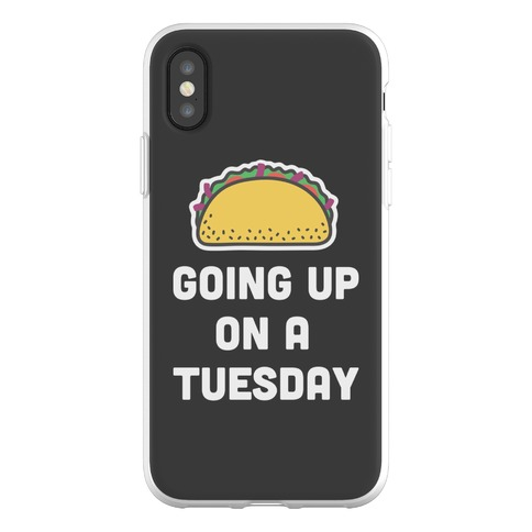 Going Up On A Tuesday Phone Flexi-Case
