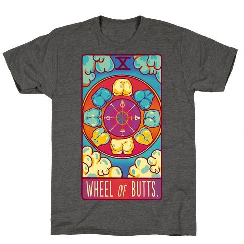 Wheel of Butts Tarot T-Shirt