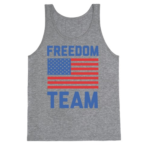 Freedom Team (cmyk) Tank Top